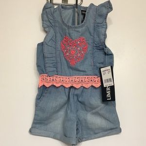NWT Limited too 12m baby romper